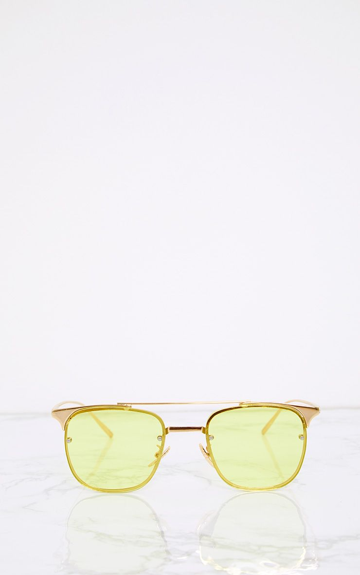 Torie Yellow Tinted Lens Glasses