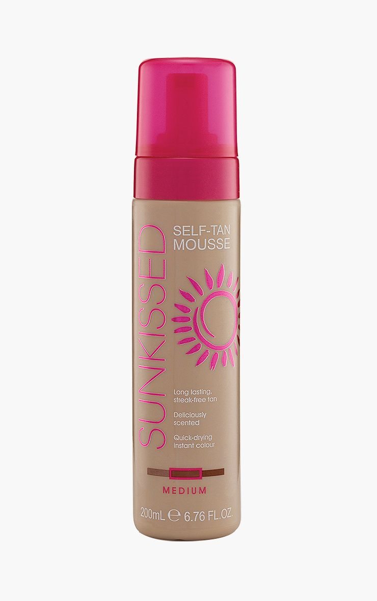 Mousse bronzante moyenne Sunkissed