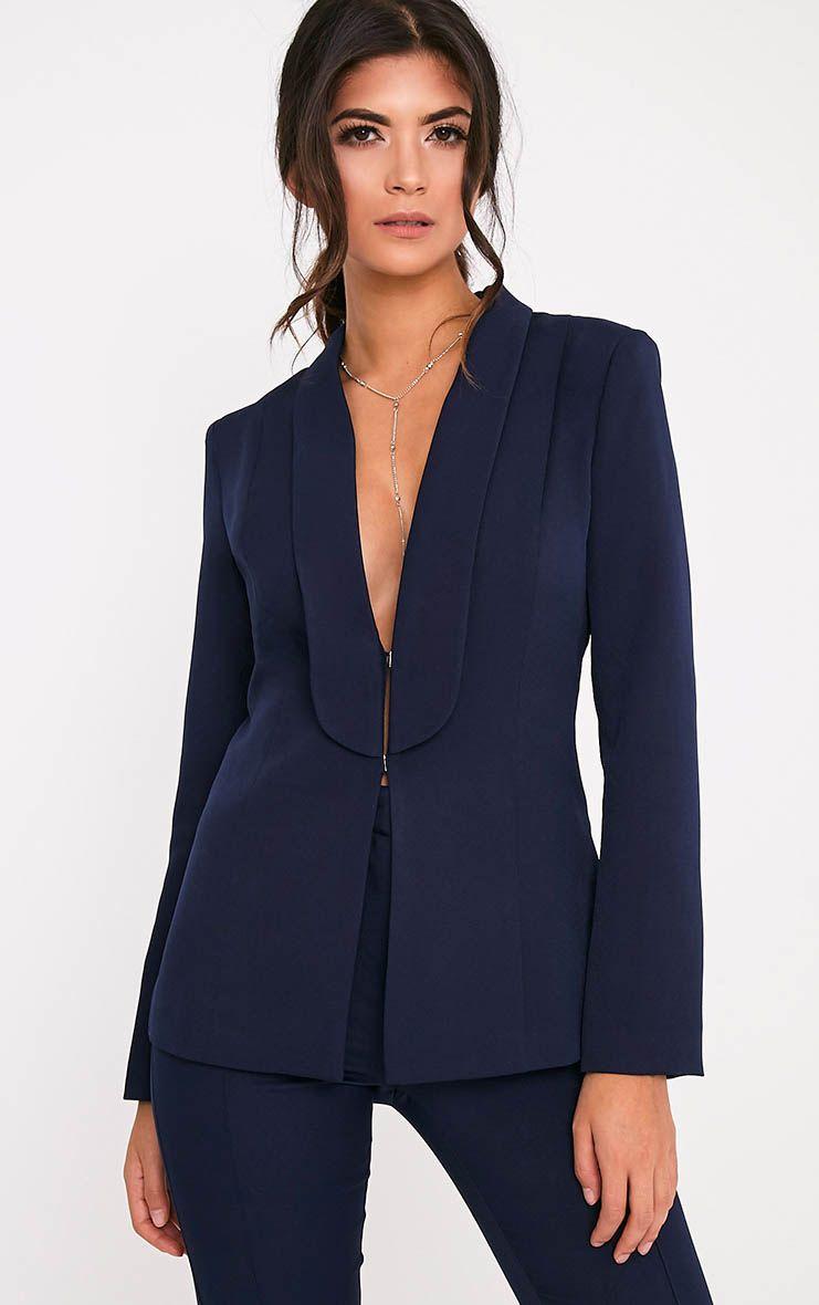 Avani Navy Suit Jacket