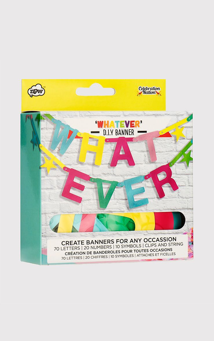 Whatever You Want Banner Kit