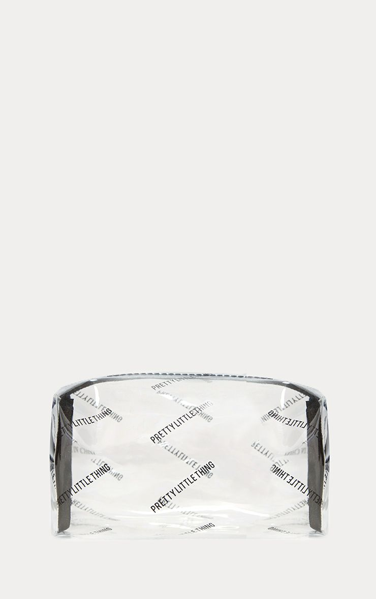 PrettyLittleThing Transparent Cosmetic Bag
