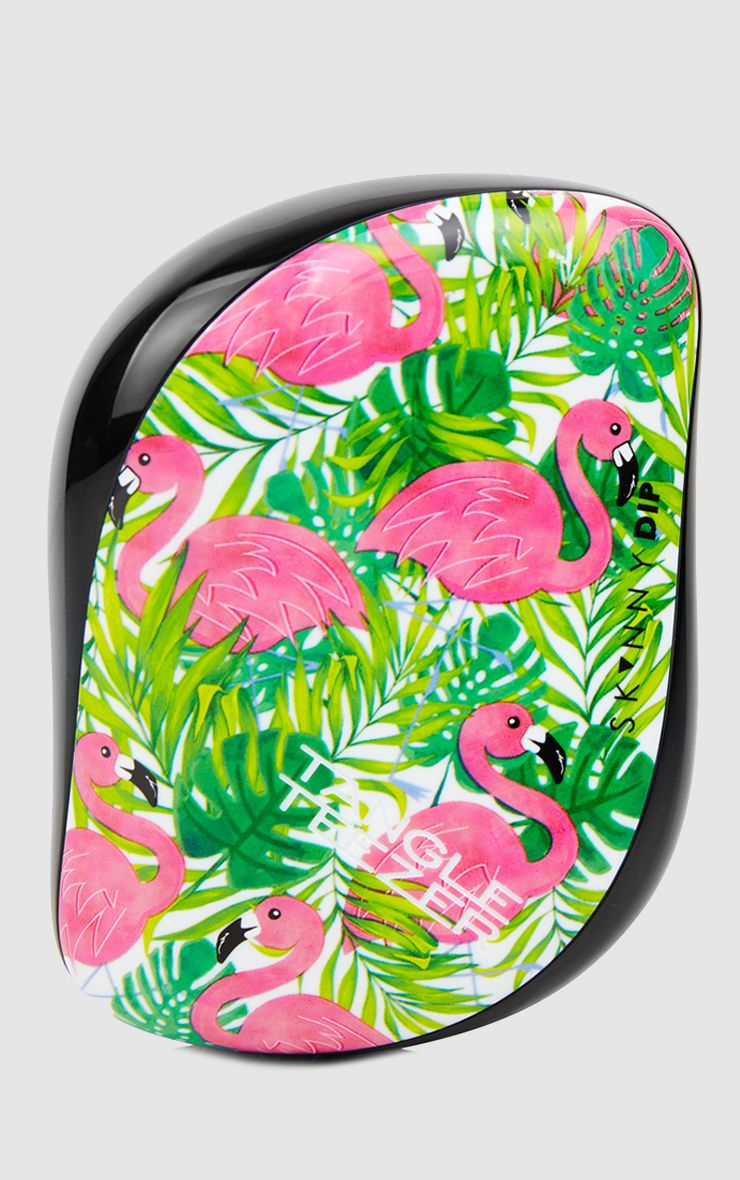 Skinnydip Limited Edition Pink Flamingo Tangle Teezer