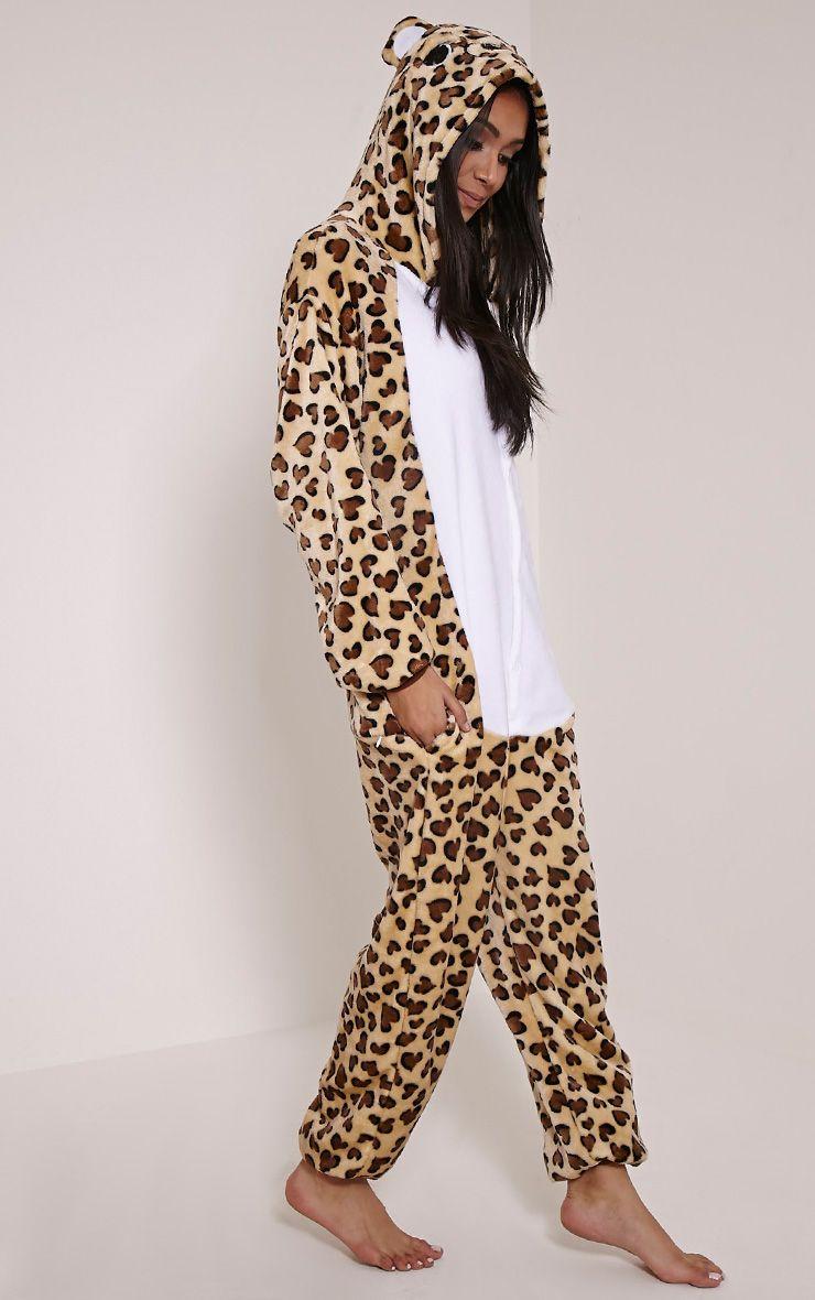 Leopard Onesie 1
