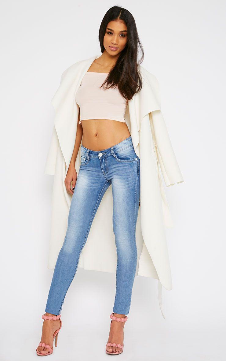 Maisy Light Blue Wash Skinny Jean 1