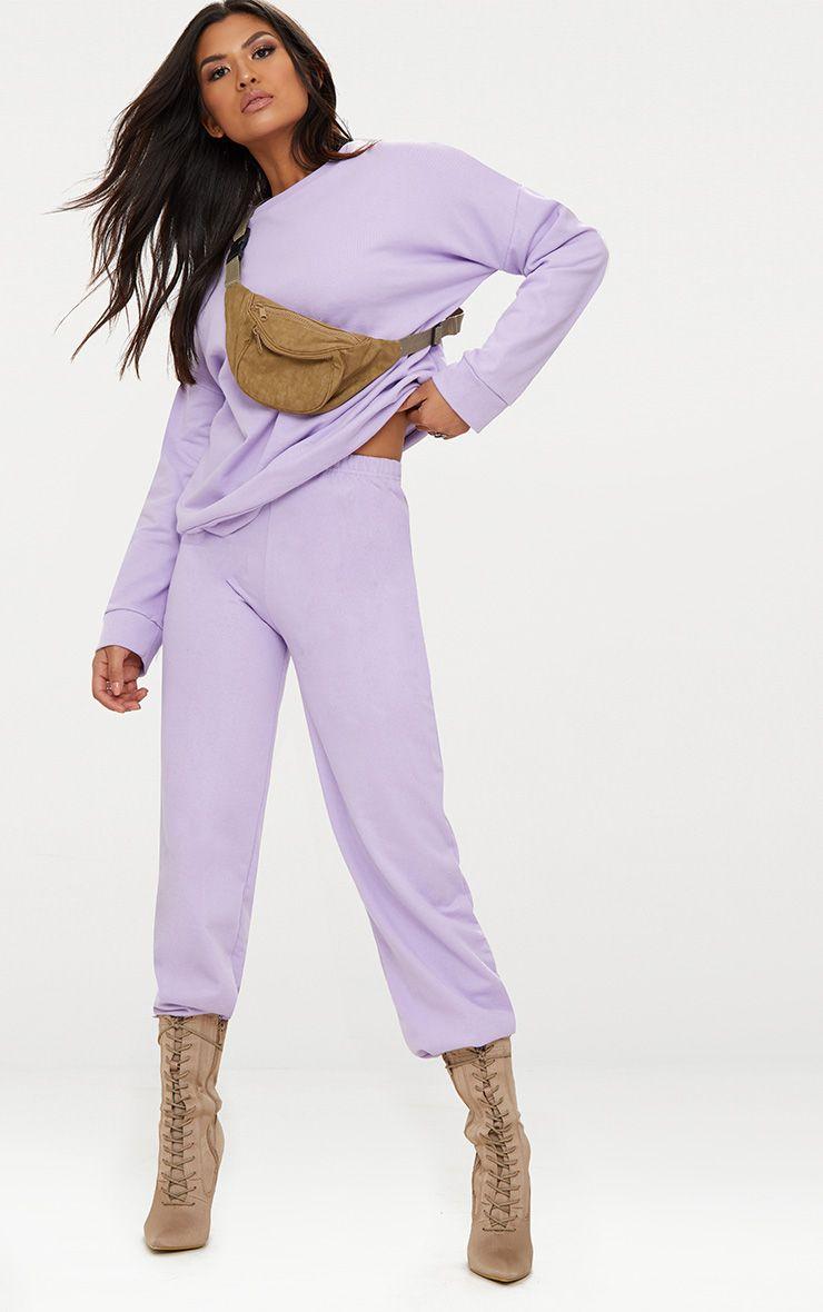 Lilac Sweat Joggers