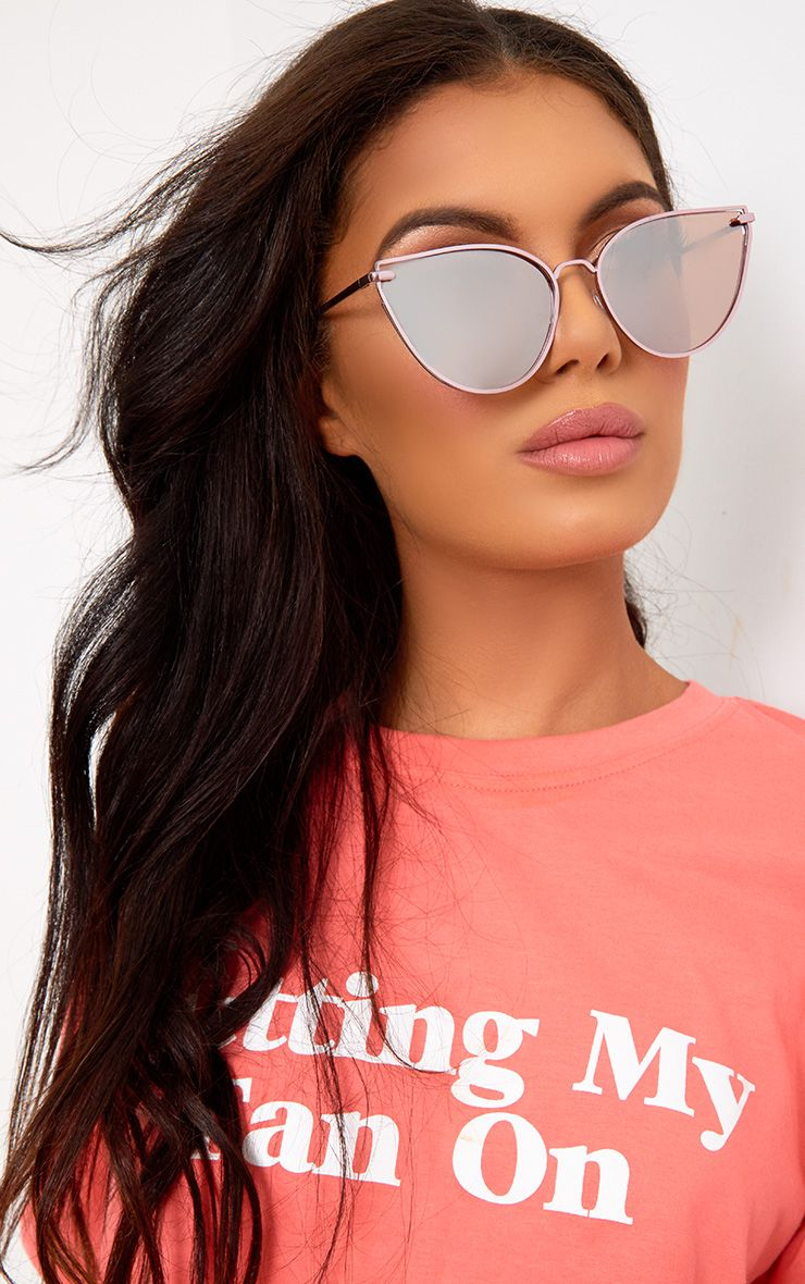 Rita Pink Cat Eye Sunglasses