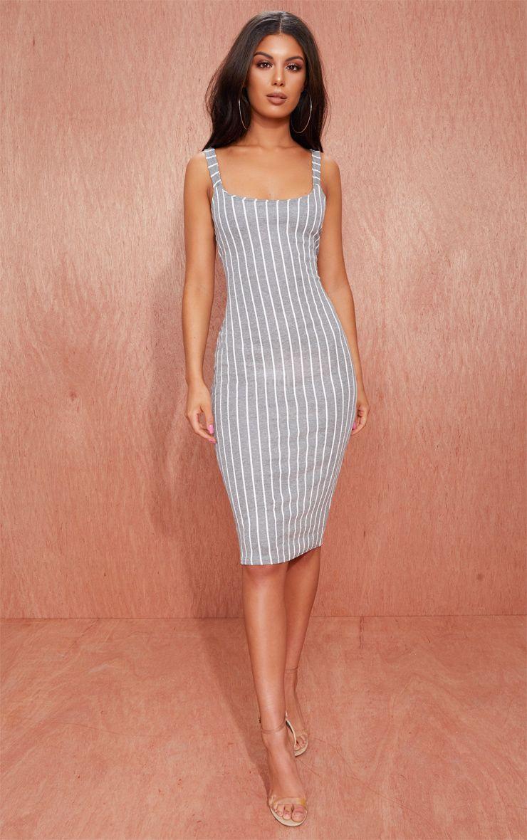 Midi Dresses Cheap Mid Length Dress Prettylittlething