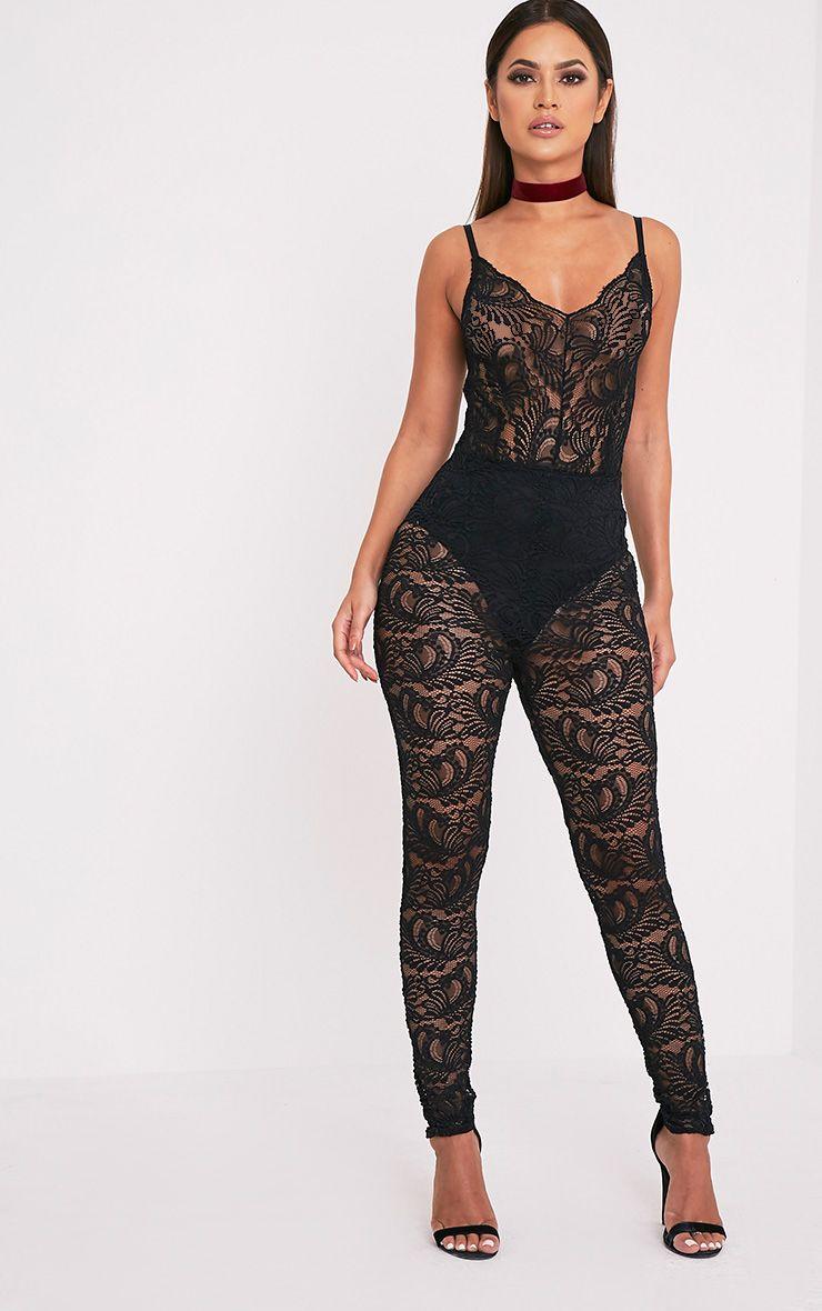 Black Cat Suits Fashion