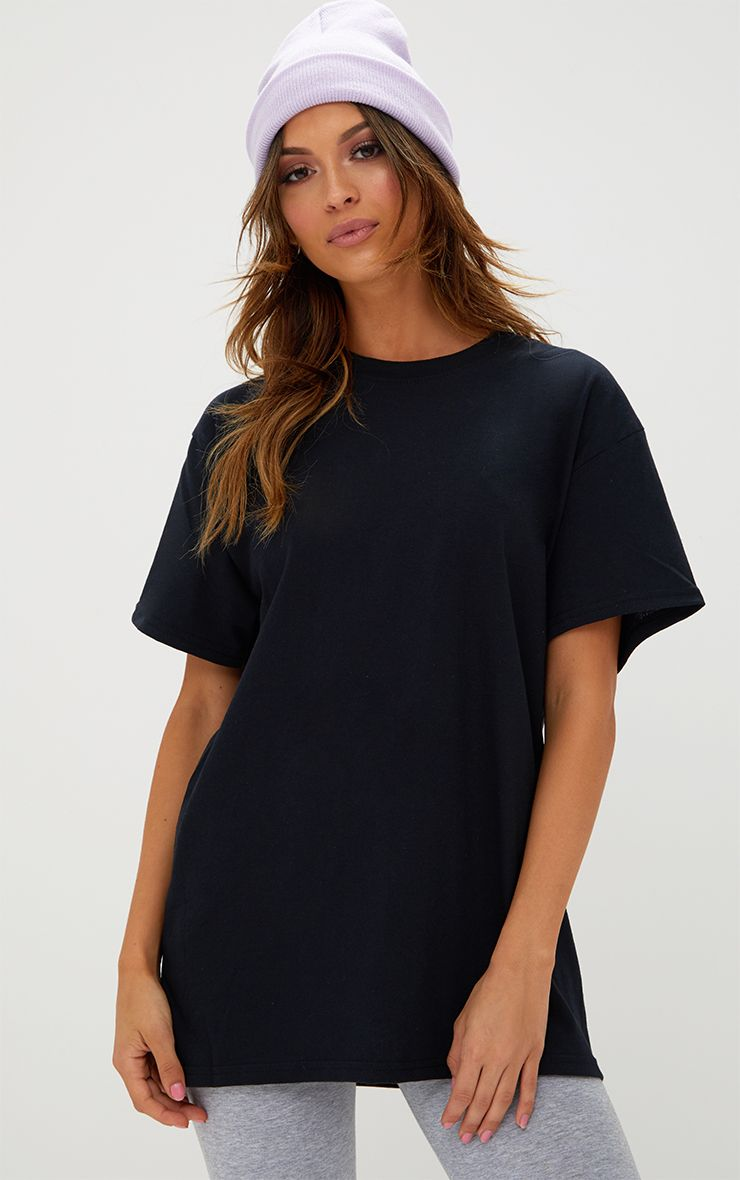 Ultimate Black Oversized T Shirt