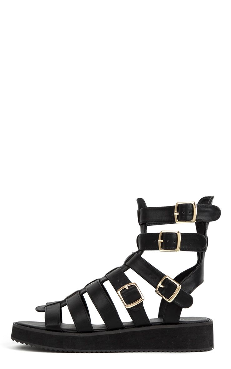 Product photo of Nadia black gladiator sandals black