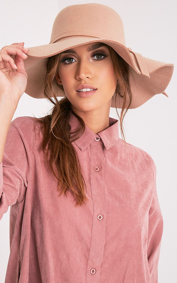 Sonja Tan Floppy Hat