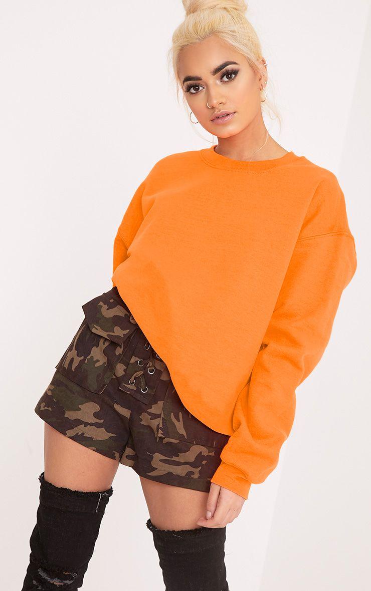 Ultimate Orange Crew Neck Sweater
