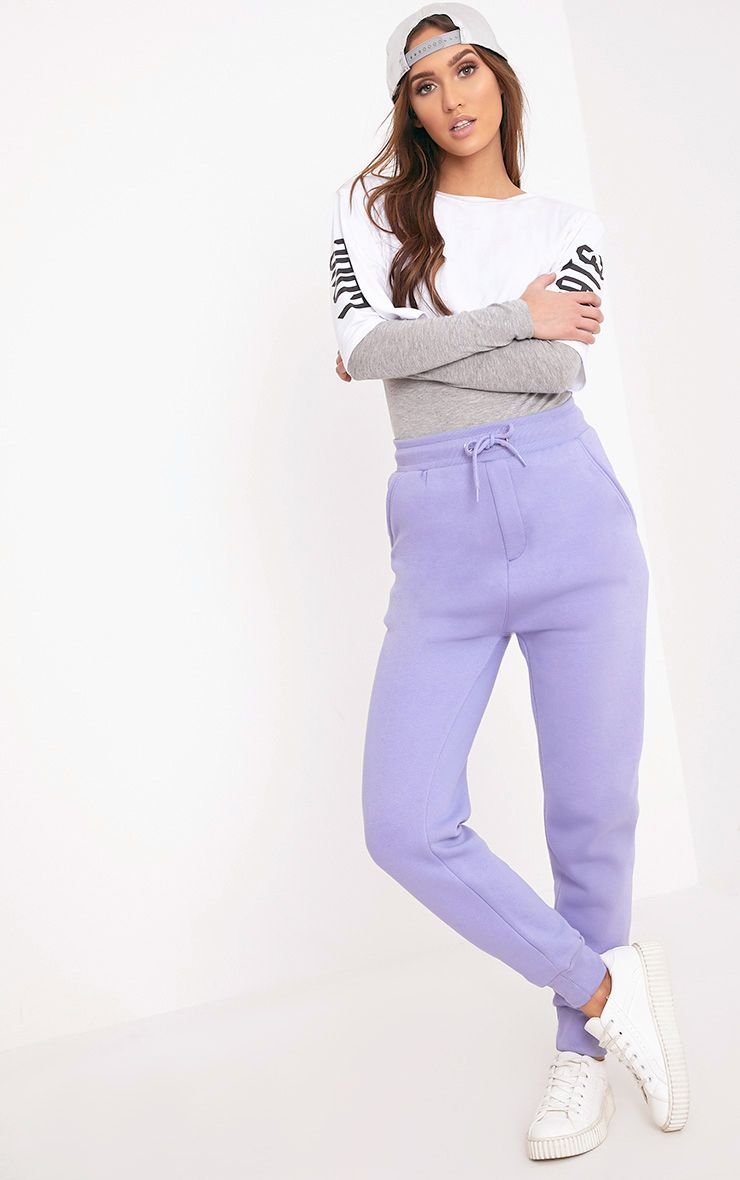 Bruna Lilac Sweat Joggers
