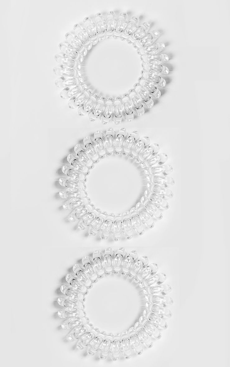 Invisibobble Power Crystal Clear Hair Ties 1