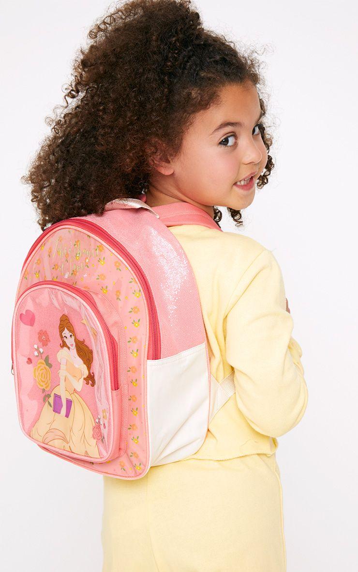 Disney Belle Pink Backpack