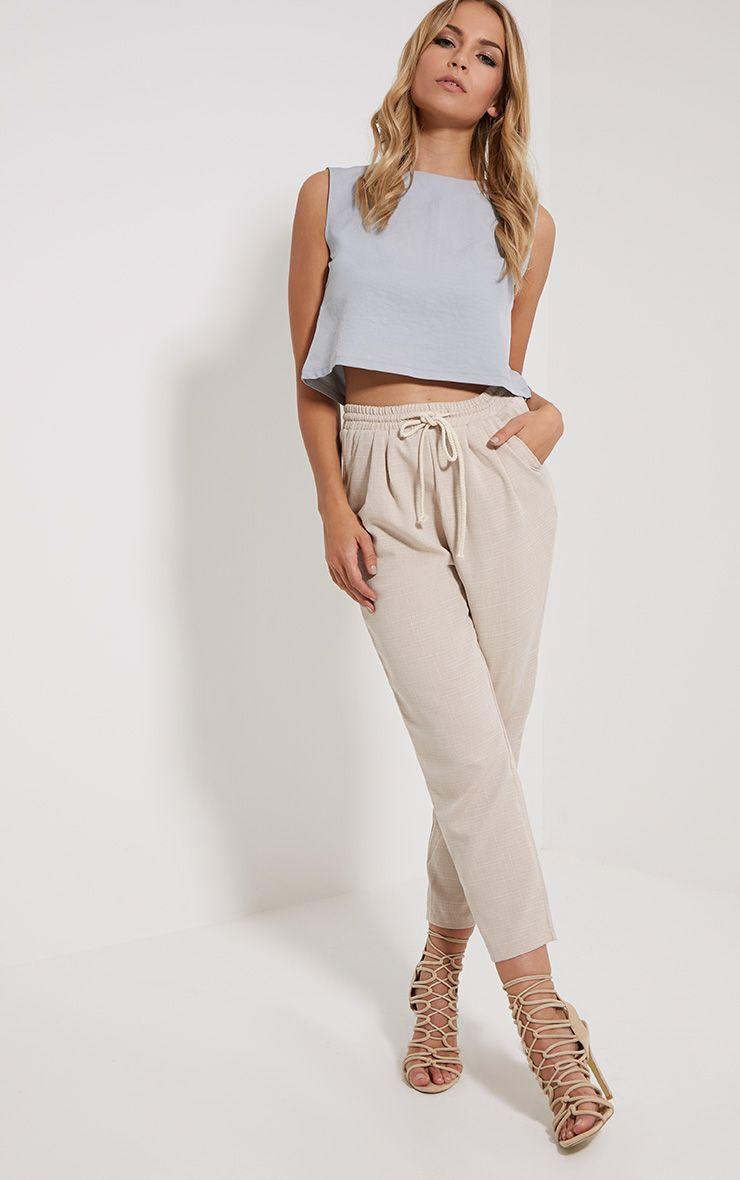 Diya Stone Cropped Trousers