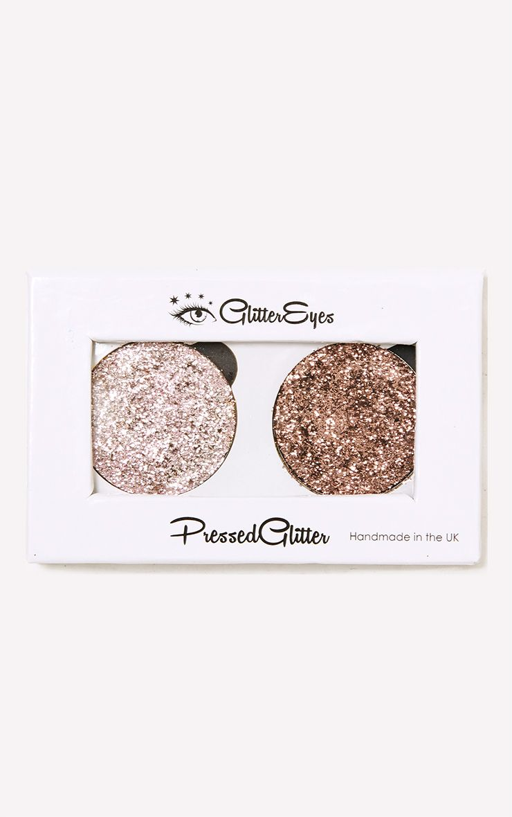GlitterEyes Natural Duo Palette