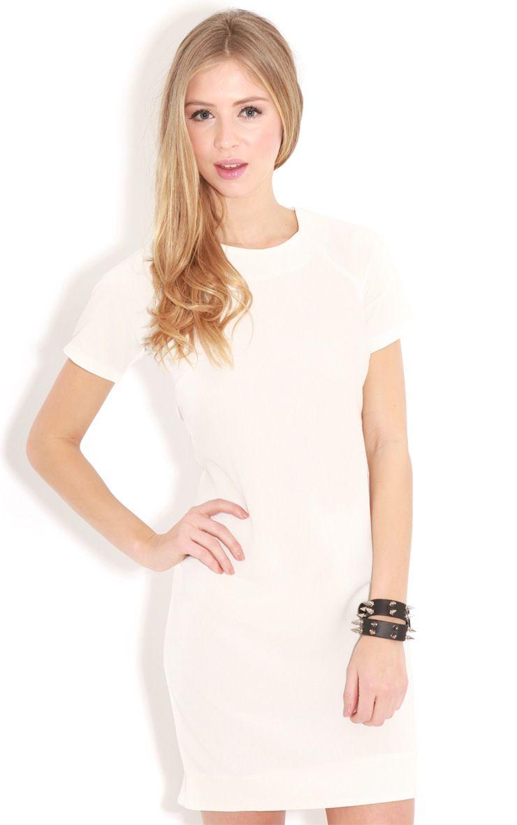 Gwyn White Shift Dress 1