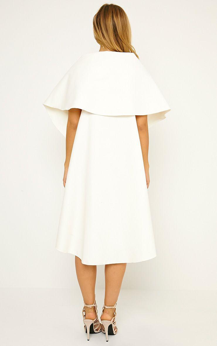 Vivian Cream Waterfall Waistcoat 2