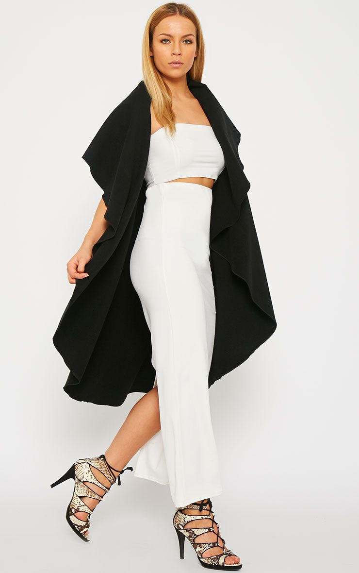 Vivian Black Waterfall Waistcoat 4