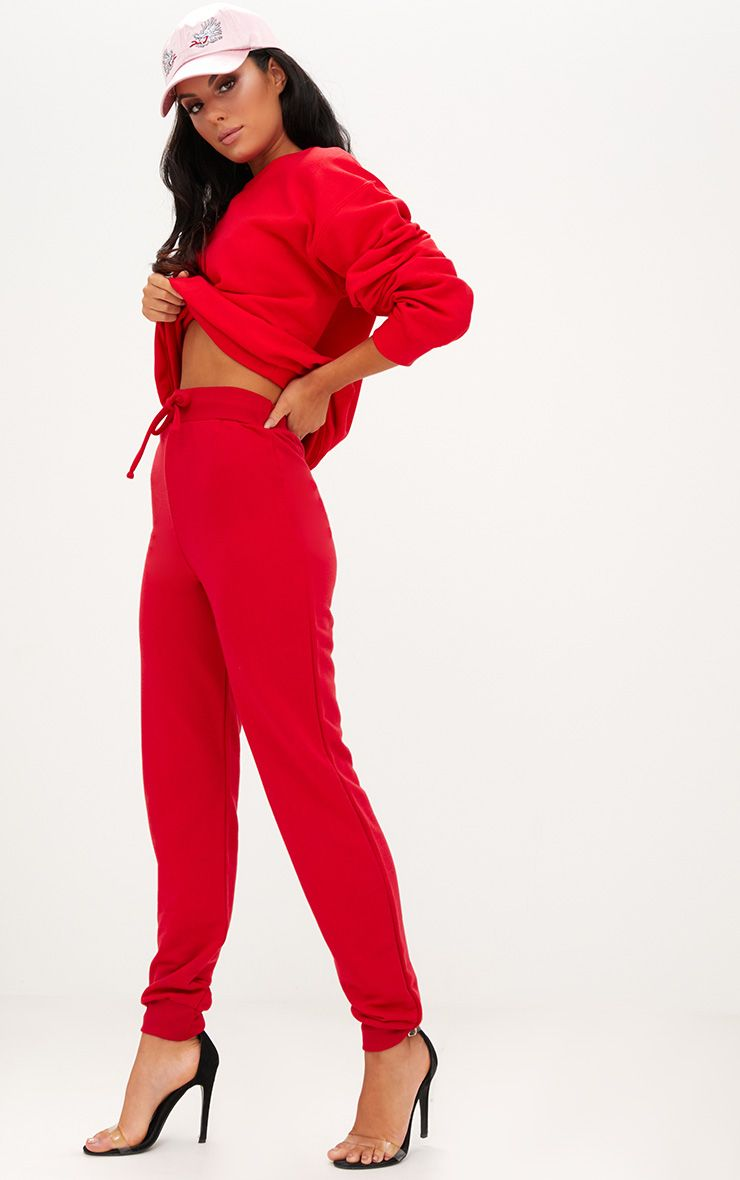 Red Ultimate Sweat Joggers