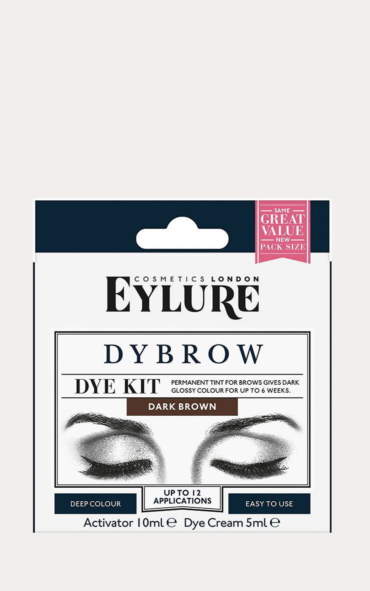 Eylure Dybrow Dark Brown Brow Tint  1