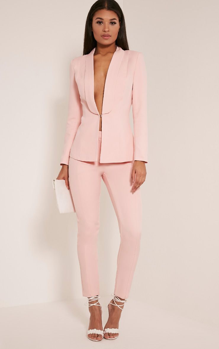 Avani Pink Suit Trousers