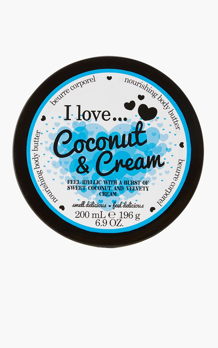 I Love Body Butter Coconut Cream