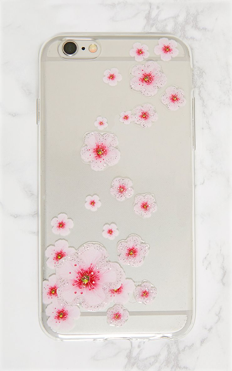 Clear Blossom IPhone 6 Case
