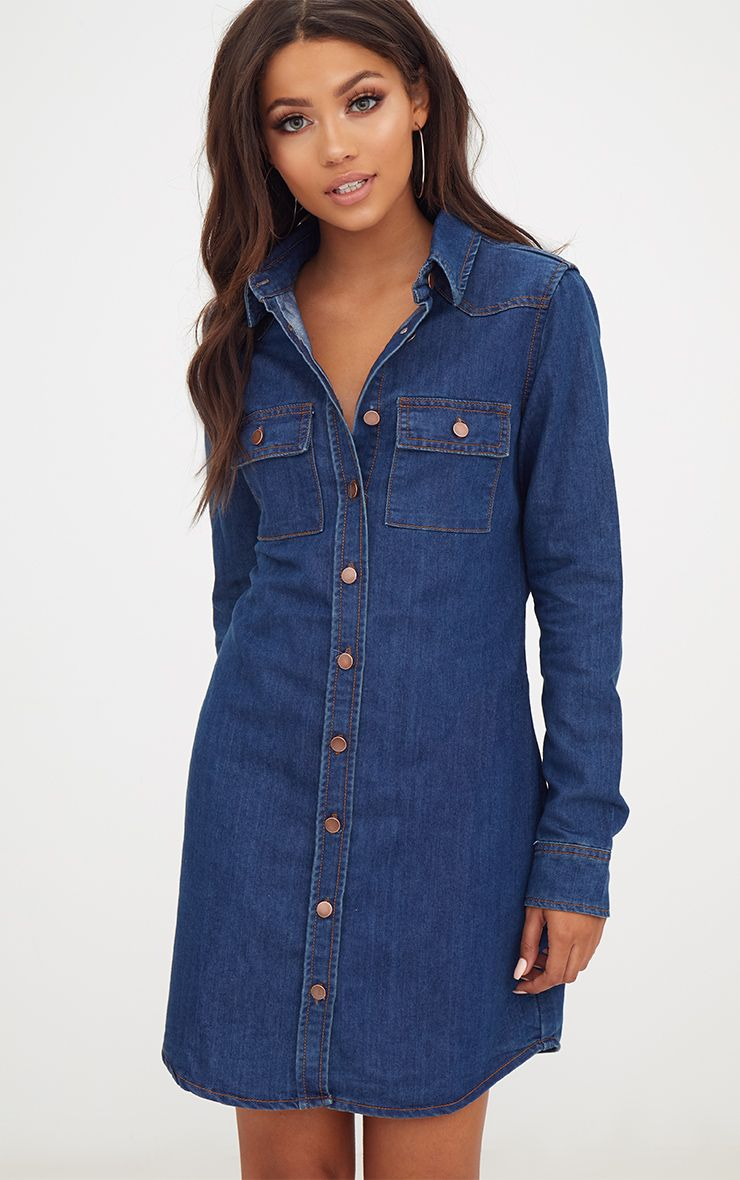 Shop for denim shirtdress at skytmeg.cf Free Shipping. Free Returns. All the time.