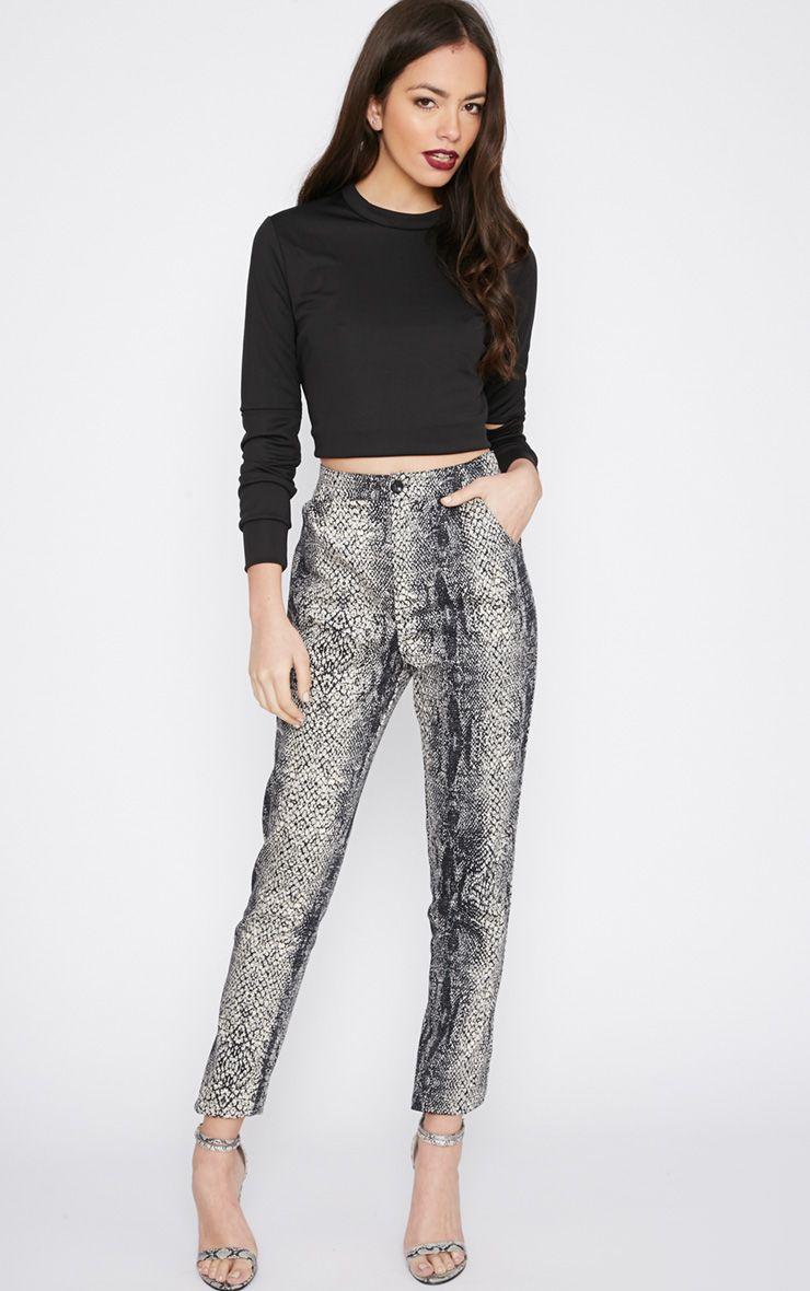 Karni Snake Print Trouser  1
