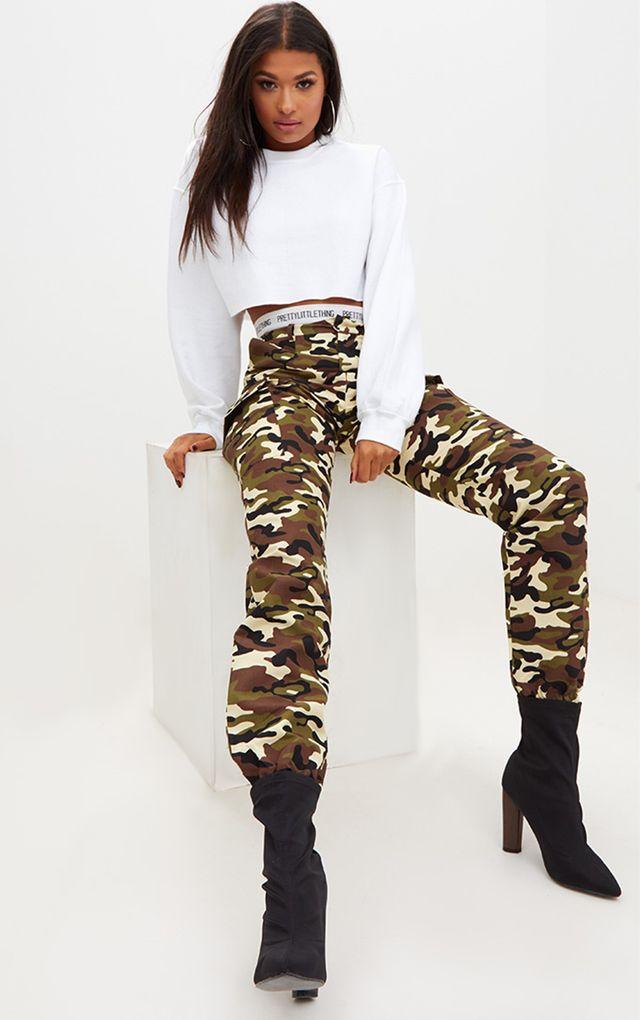 Camo  Womens Fashion  Prettylittlething Usa-4521