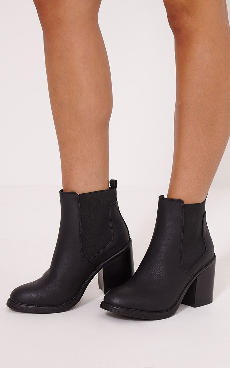 PRETTYLITTLETHING Chunky Chelsea Ankle boot sXCOUuSb