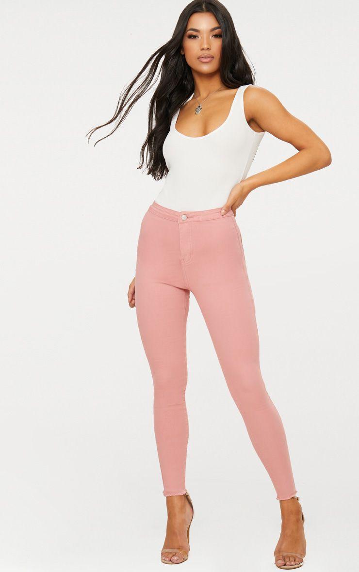 Pink Disco Skinny Jean