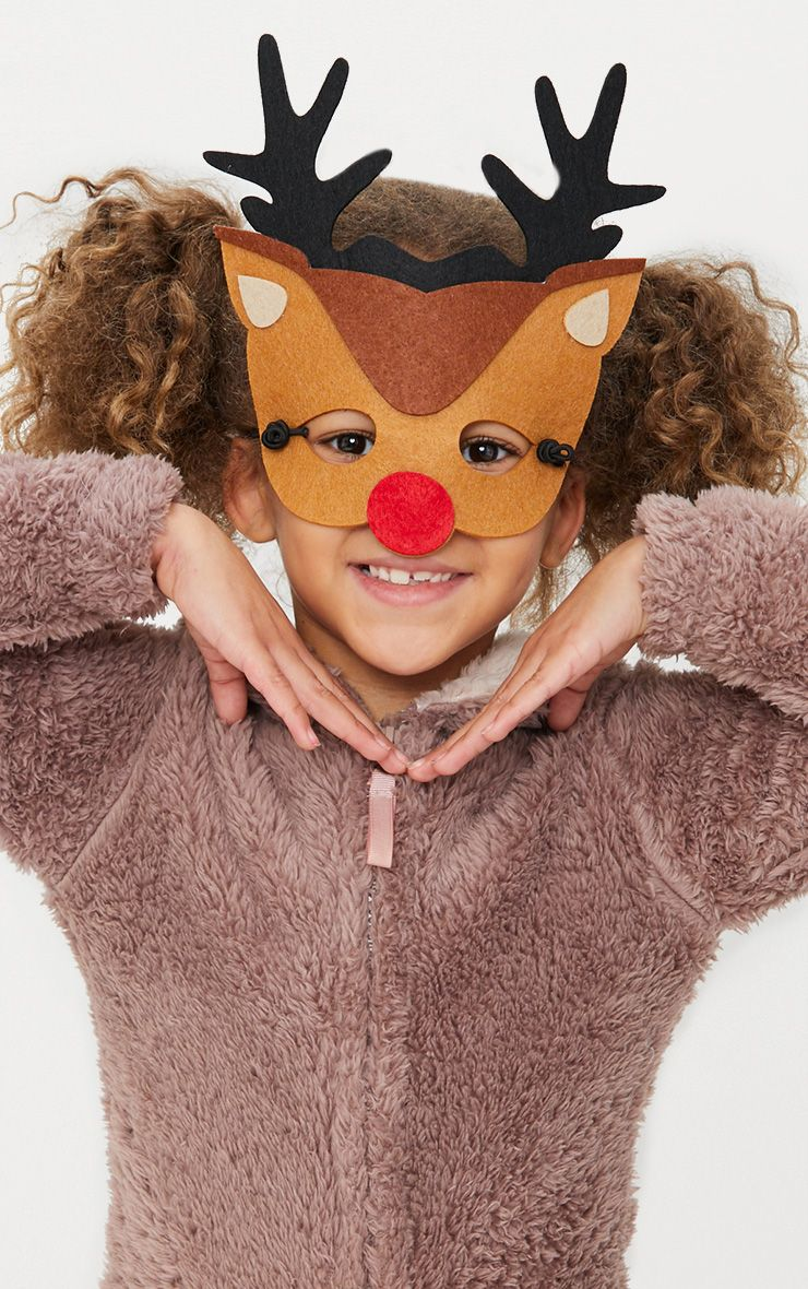 Masque Rodolphe en feutre Furry Tales