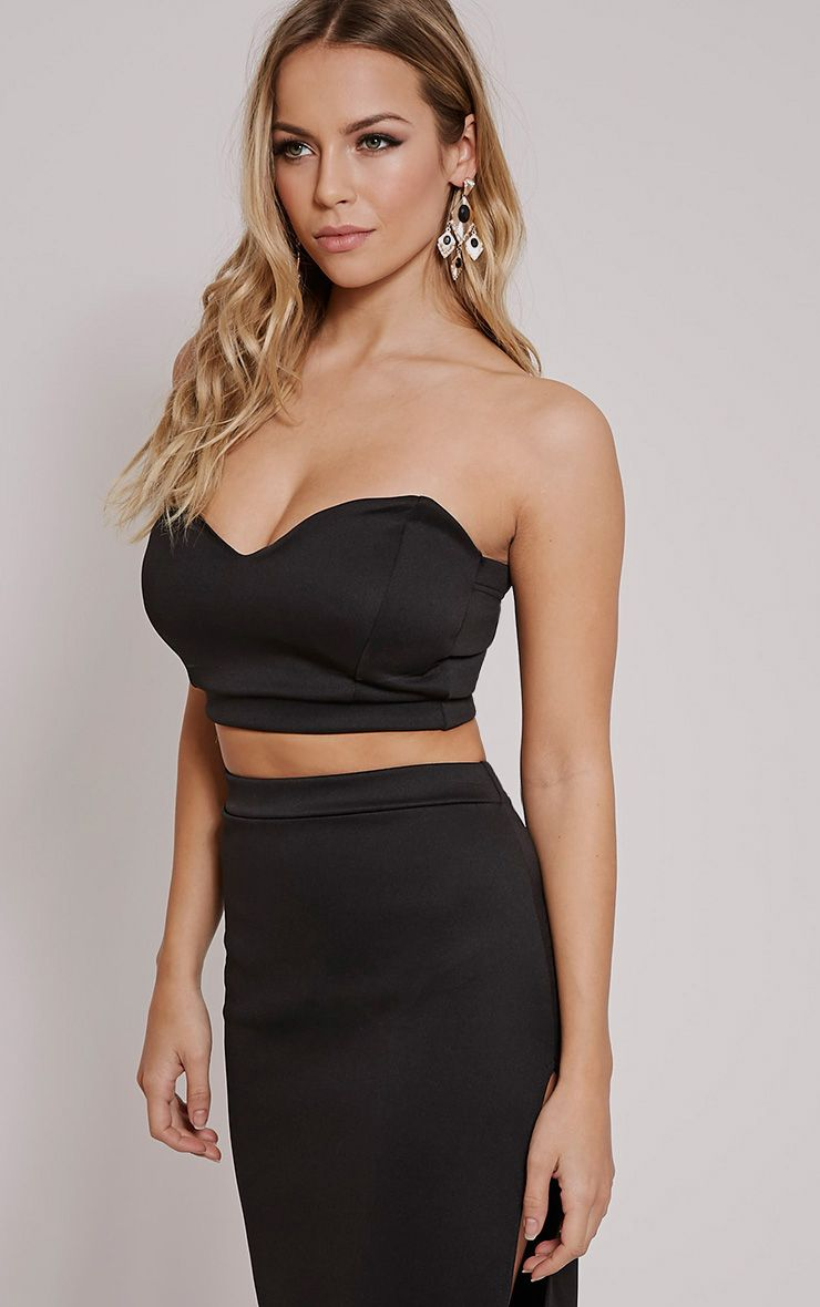Ella Black Sweetheart Bralet 1