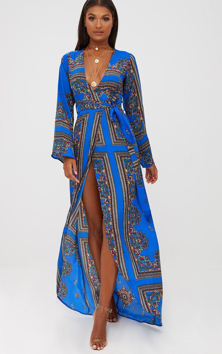 Layala Navy Split Detail Bandeau Bodycon Dress Dresses