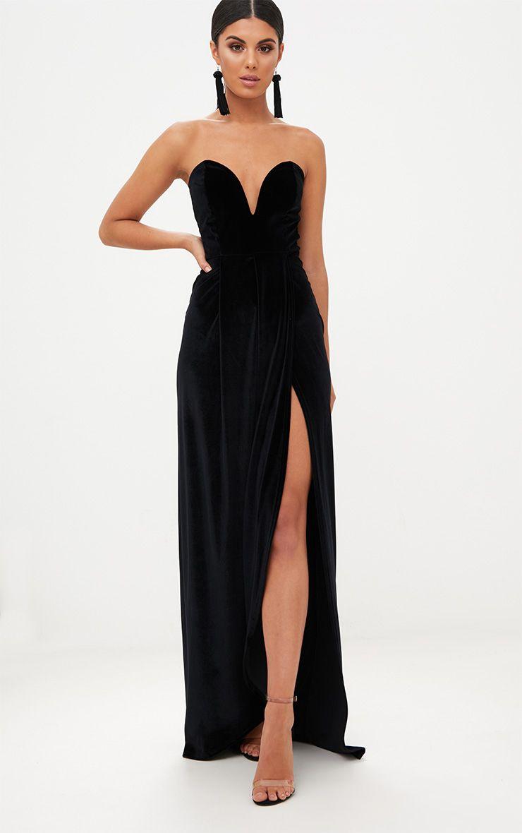 Debs Long Dresses All-Black