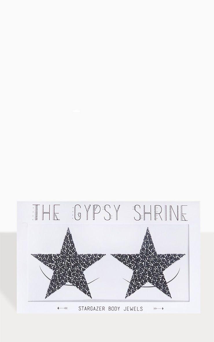 Bijoux de corps The Gypsy Shrine X Easy Tiger - Stargazer Black Body Jewels