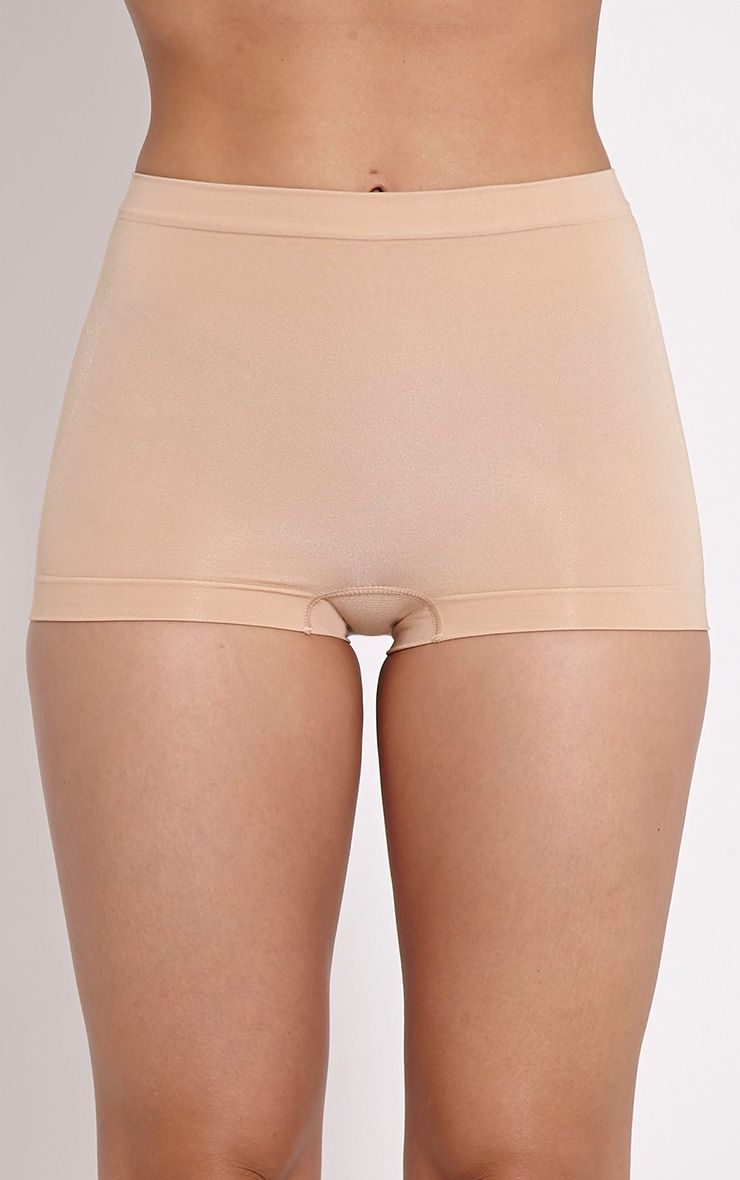 Nude Tummy Tuck Bum Lift Control Short 1