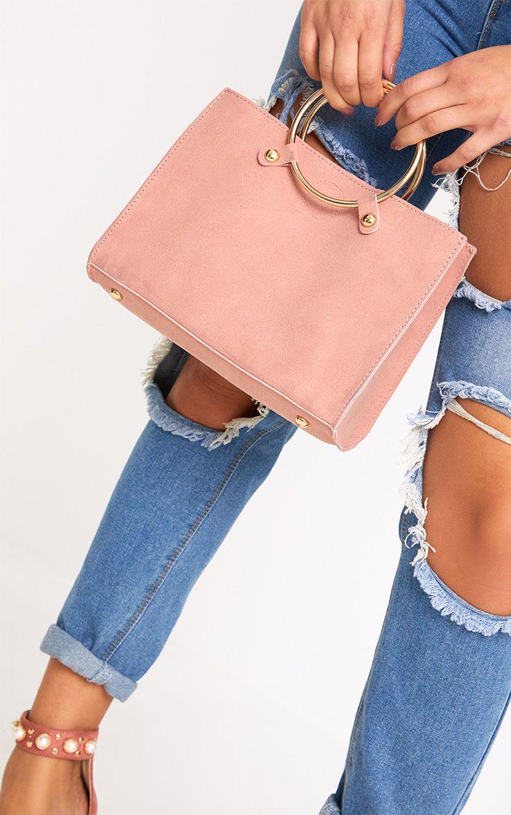 Pink Ring Handbag