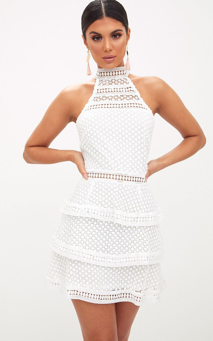 Lace Dresses   Black, White & Pink Dresses   PrettyLittleThing