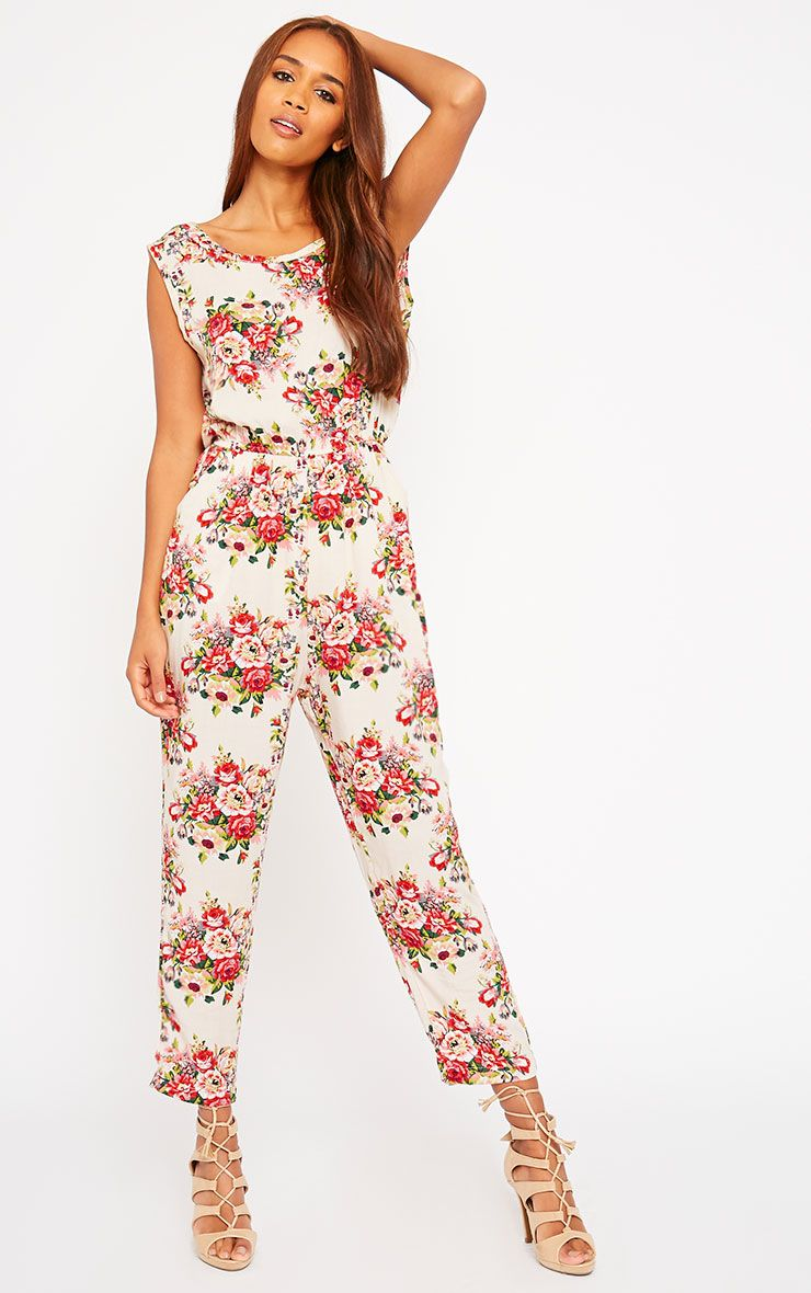 Bette Floral Print Jumpsuit 1