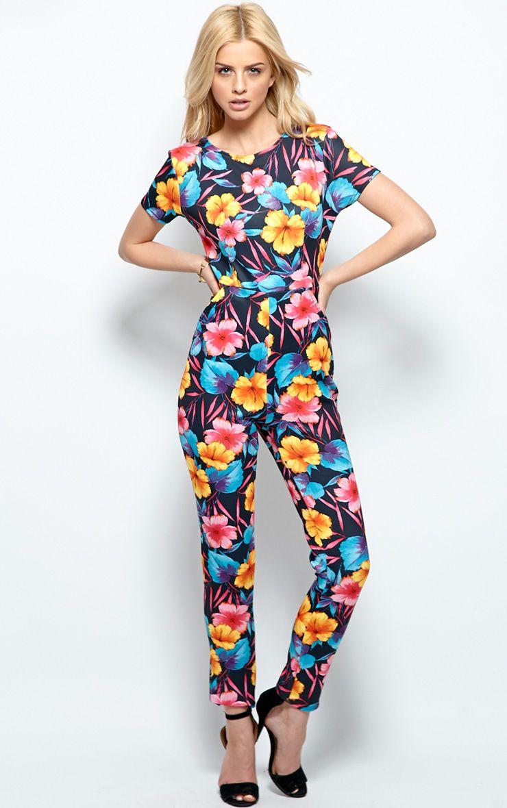 Florence Floral Jumpsuit 1
