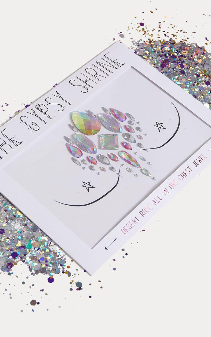 Bijou de poitrine Gypsy Shrine - Desert Rose
