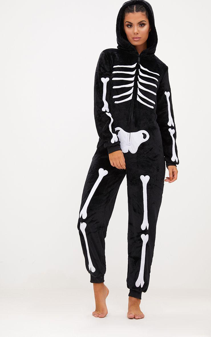 Skeleton Onesie 1