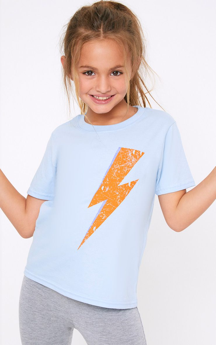 Lightening Blue T Shirt