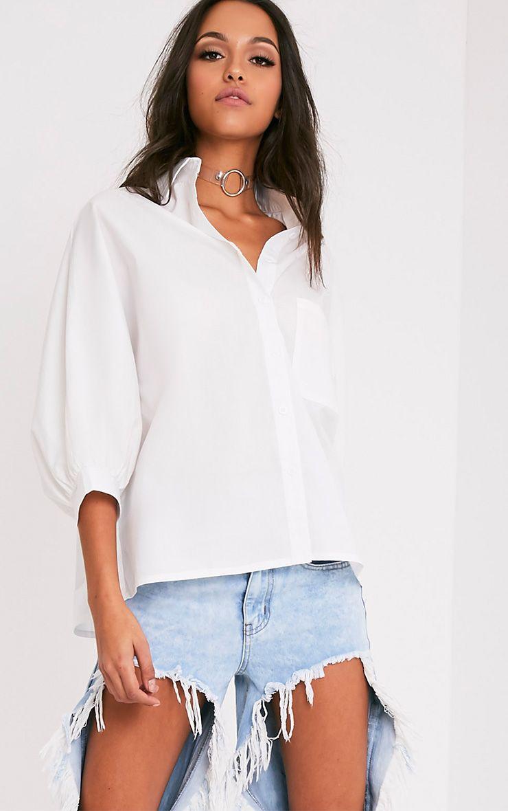 Ariane Cream Batwing Shirt