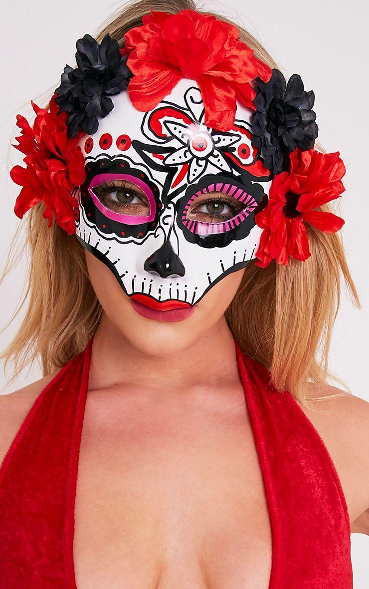 Day Of The Dead Sugar Skull Mask
