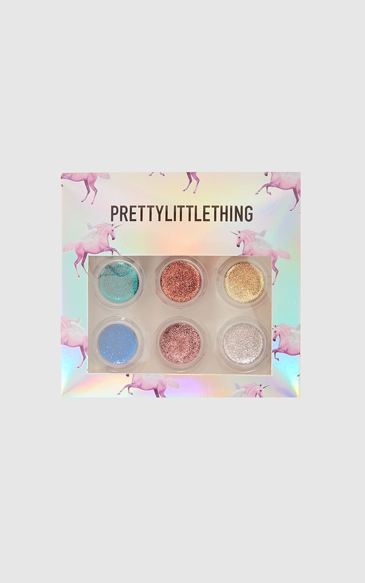 Palette de maquillage 6 teintes - PLT All That Glitters